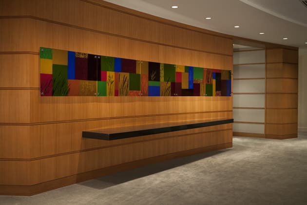Photography of Cast Glass Panels