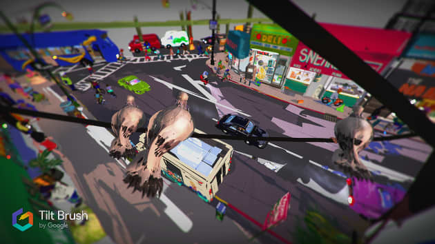 A Bronx Virtual Reality Painting