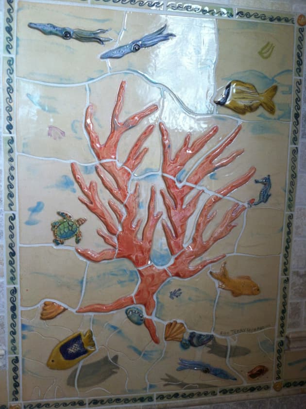 Coral bath