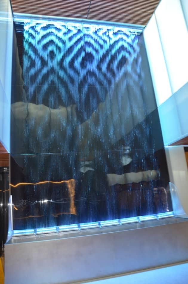 Digital Water Curtain at Coca-Cola Hq. Madrid
