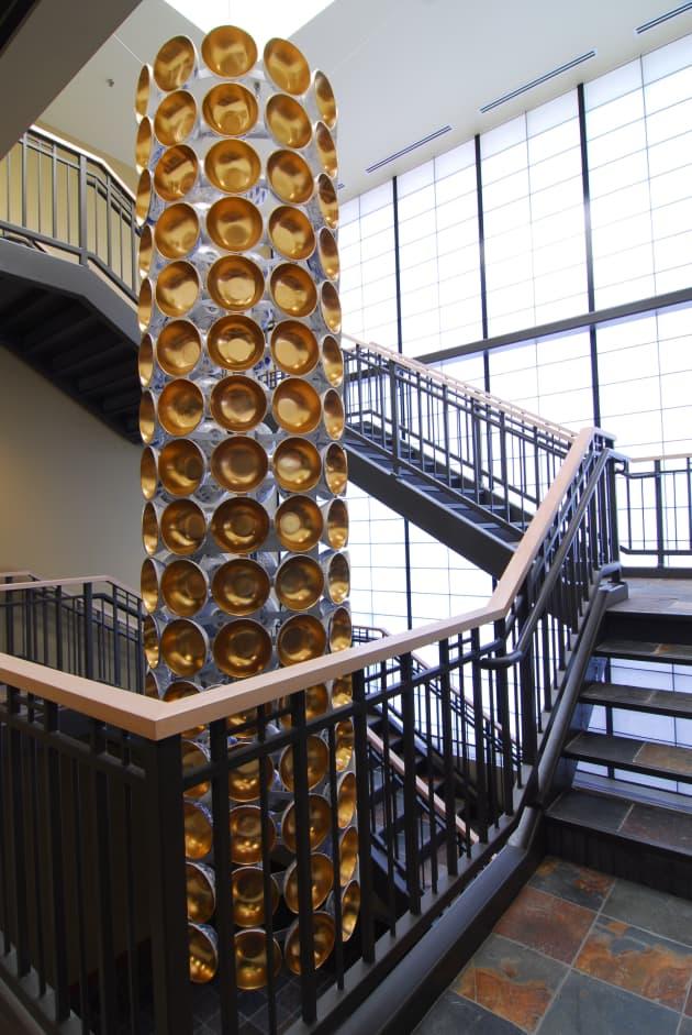 Gilded Bowl Column