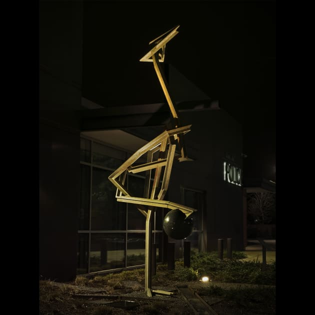 Crane in its Vigilance