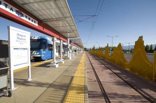 The Canyon   Salt Lake City International Airport TRAX Station