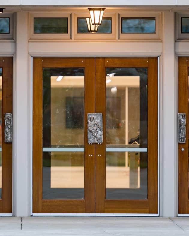 Notre Dame University Door Pulls