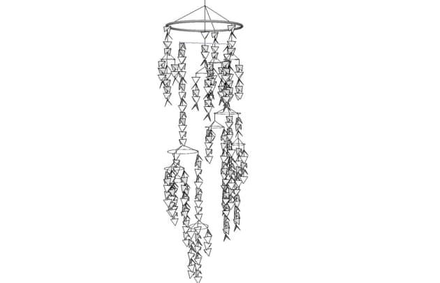 White River Hanging Mobile