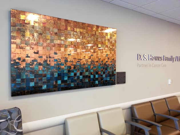 Memorial Artwork for Cancer Centre