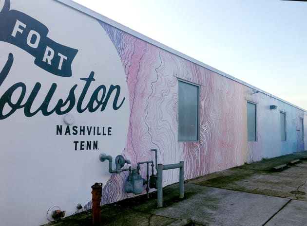 Fort Houston Mural