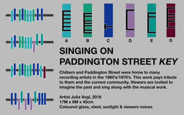 Singing on Paddington Street
