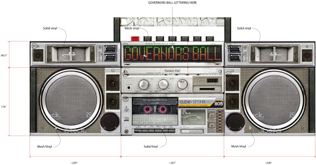 Governor's Ball Boombox