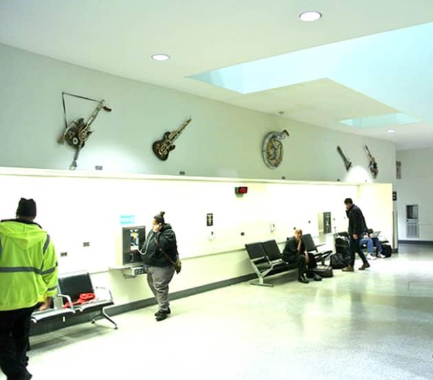 Cleveland International Airport Display