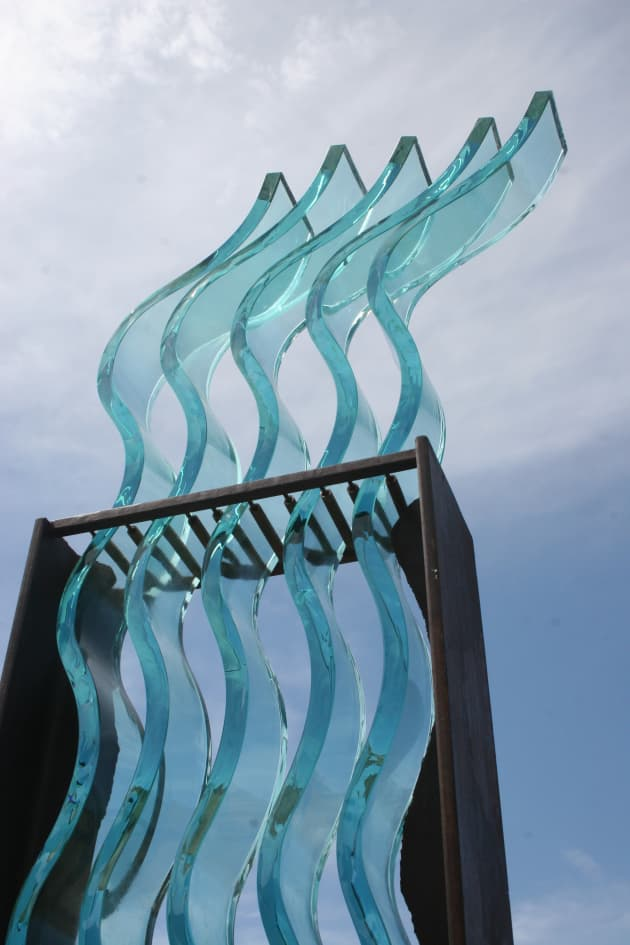 "Linear Form Series-""Flumine"" (River)"
