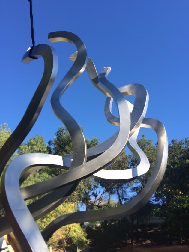 Untitled (Vertical Twisting Elements)