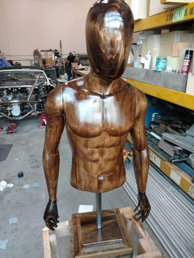 Custom Wood Manniquin