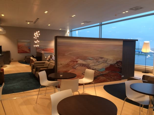 Aspire Lounge for Swissport Ltd. at Schiphol International Airport