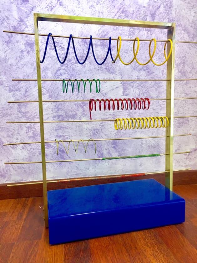 Mollofono, mobile sculpture of the sound