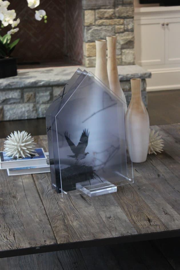 Nest Series, Photo Montage Sculpture