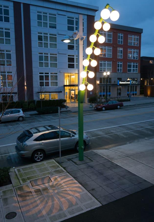 Inflorescence: Hoyt Avenue Light Sculptures