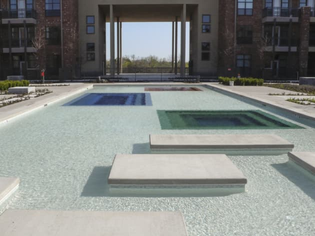 Contemplation Plaza and Sawyer Pool