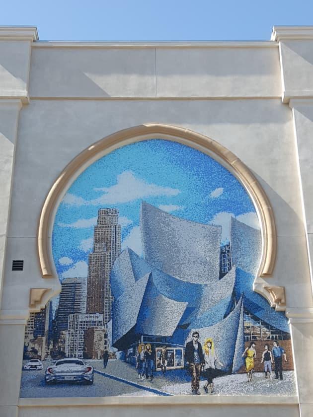 Stanford Plaza Mosaics