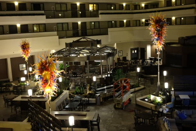 Embassy Suites at LAX N, and Refresh