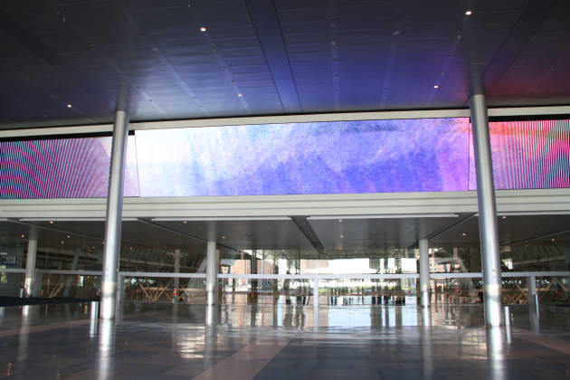 Convention Center, Video Wall and Marquee, Fine Art in Motion