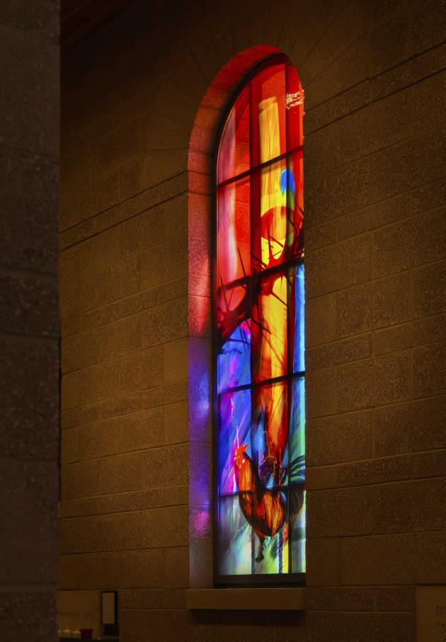 Nave Windows at Our Lady of Loreto Catholic Church