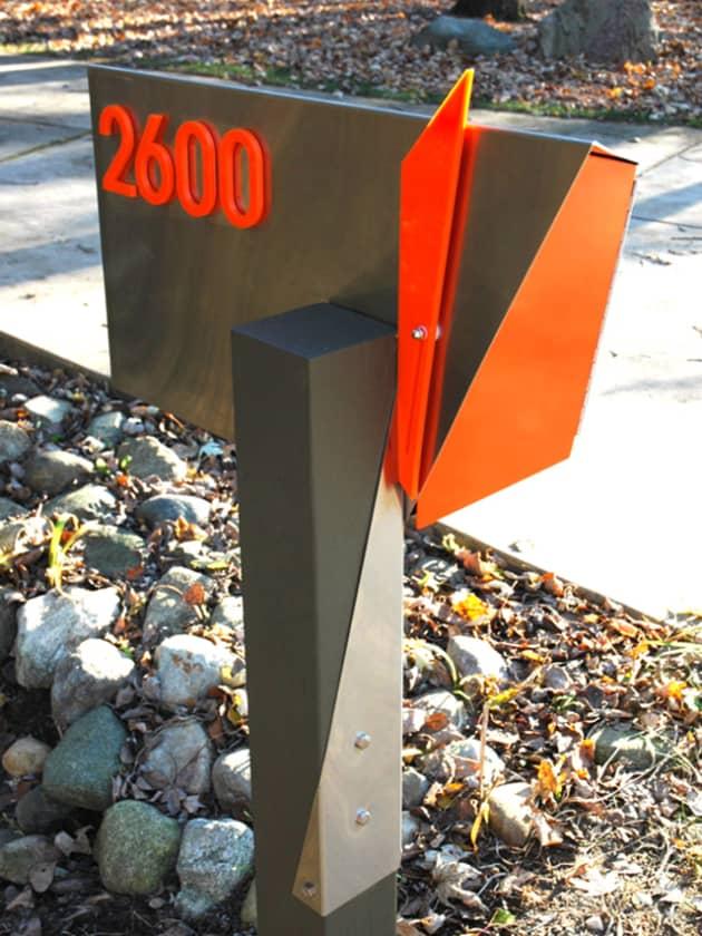 Custom Modern Mailboxes