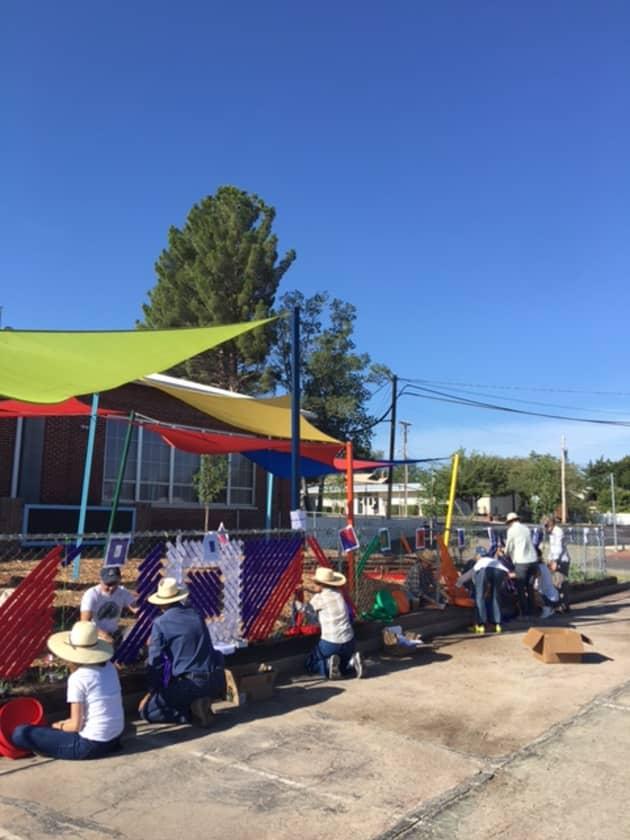 Marfa Community Weaving