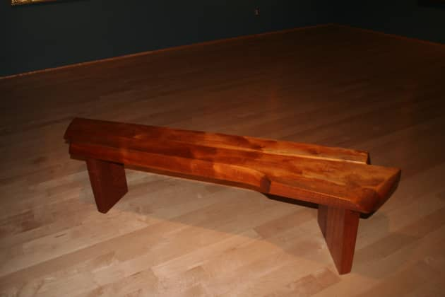 Museum benches