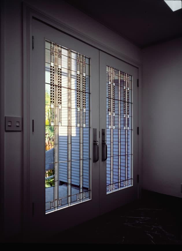 Frozen Music – Art glass Doors and Windows