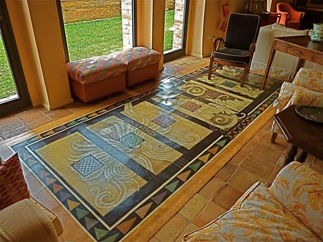 Tuscan Floorcloth