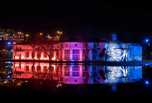 Photographic documentation of lighting design project for Genglick Park