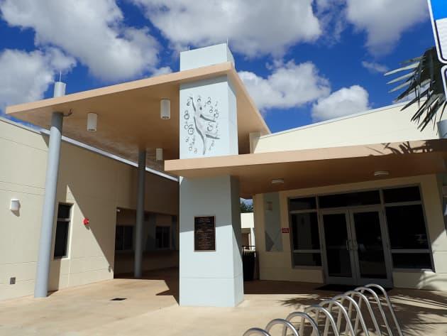 Miami Springs Aquatic Center – Sculpture & Decorative Fence
