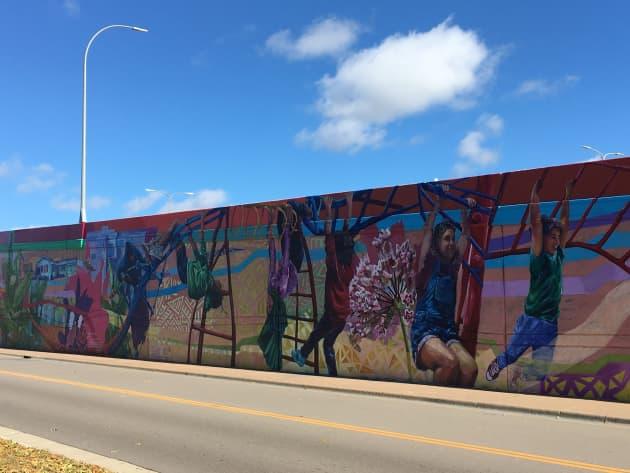 Wright's Lake Park Community Mural