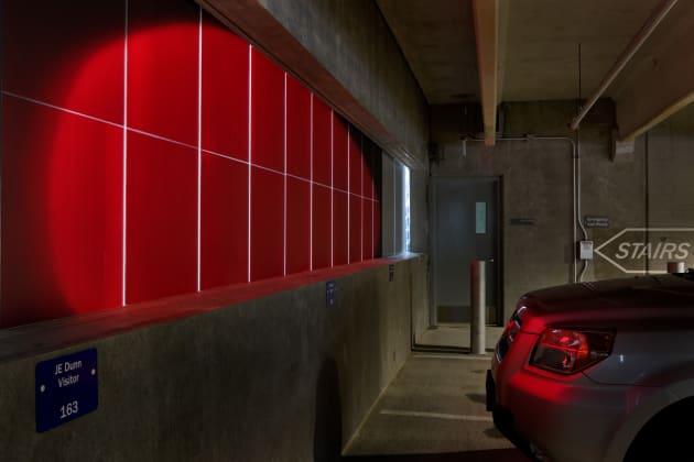 Red Eye | East Village Parking Garage