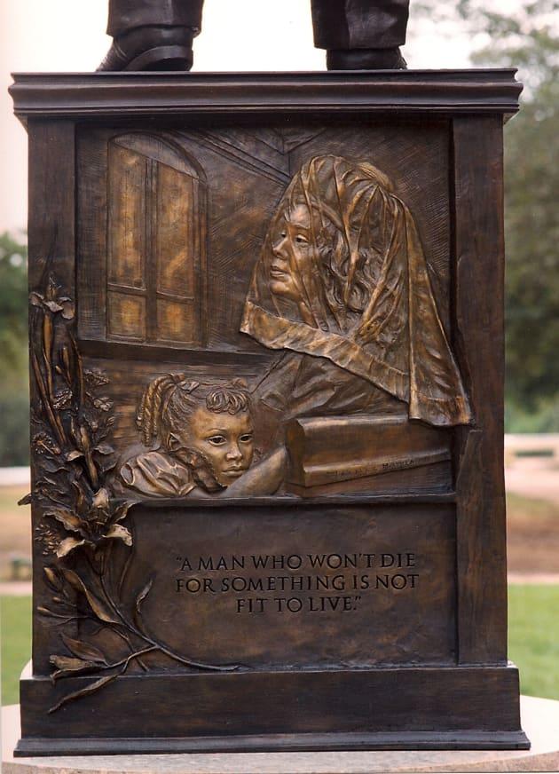 Dr. King Monument, Austin