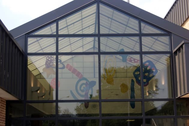 Stout Field Atrium