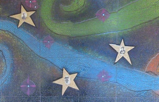 Steele Elementary School mural