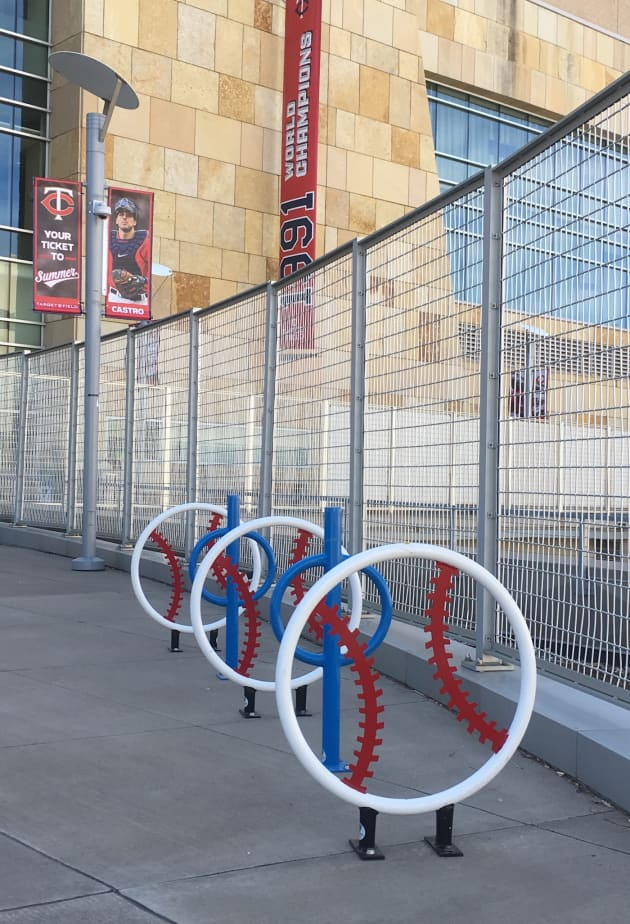 Target Field Station Bicycle Racks