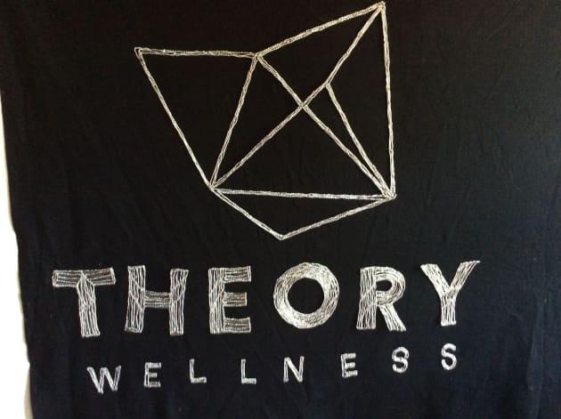 Theory Wellness Wire Wall Art Signage