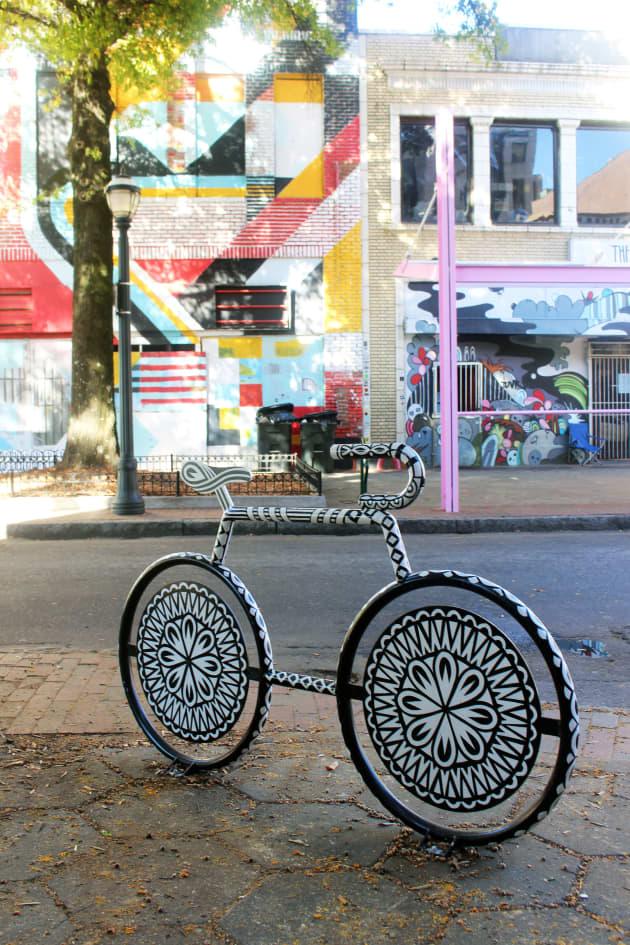 Mural Bike Rack Project