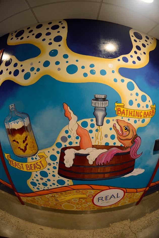 Coney Island Brewery – Freak Show Alley Mural
