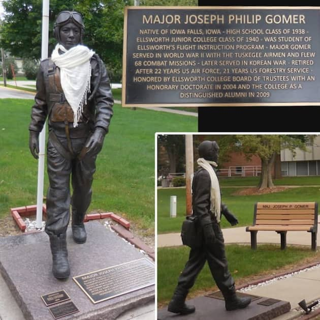 Tuskegee Airman, Joe Gomer