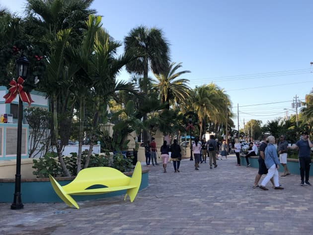 Key West pedestrian mall