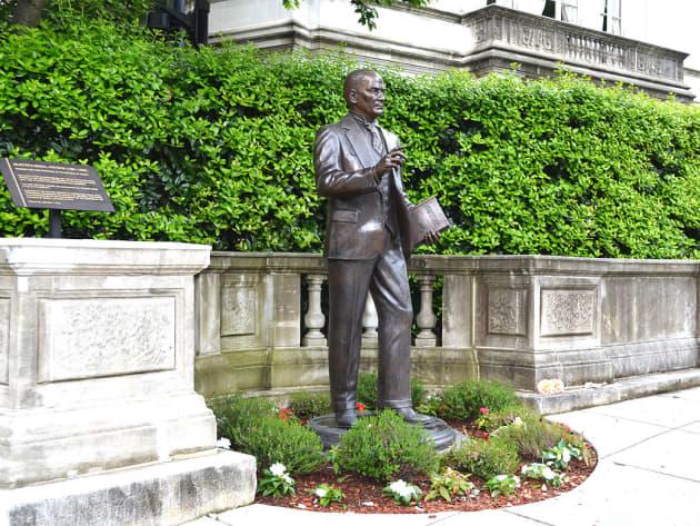President Kemal Ataturk statue