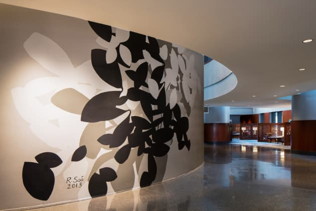 Westin Peachtree Plaza Grand Scale Wall Painting