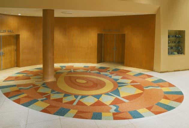 Terrazzo: Center for the Arts, NM