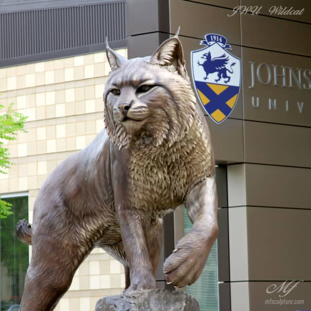 JWU Wildcat Monument