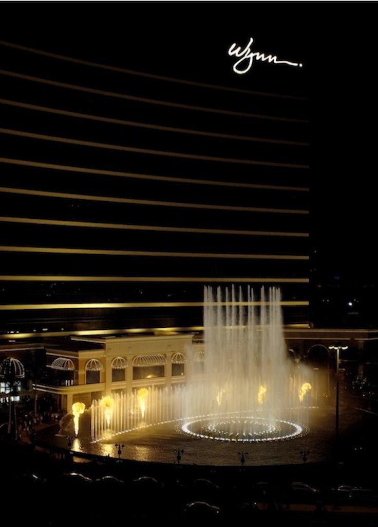 Performance Lake at Wynn Macau - CODAworx