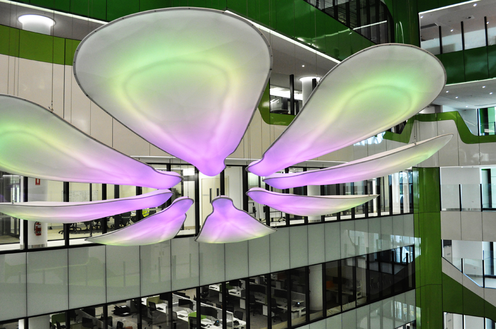 Perth Children's Hospital Atrium Artwork - Buoyant